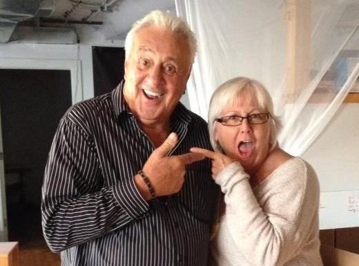 Phil Esposito and Vickie Fagan